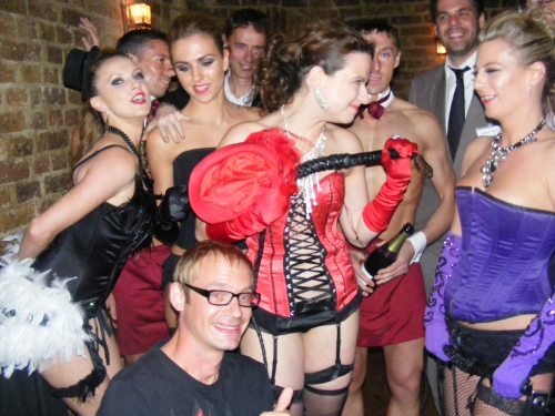 Butlers and burlesques