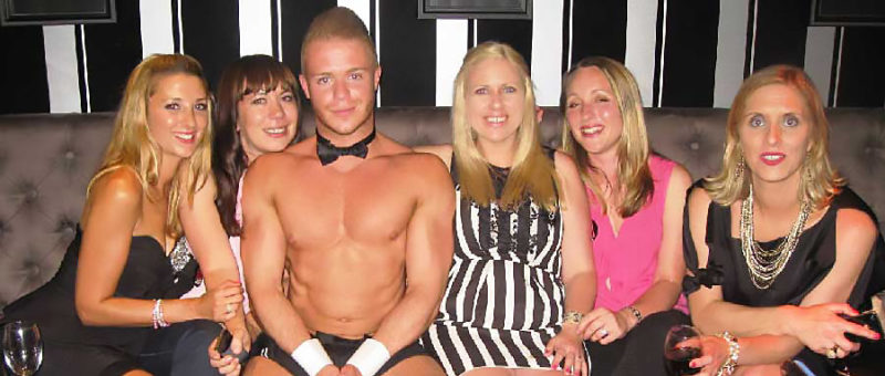 Hire Naked butlers for your party